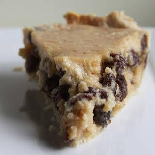 Grandma Jacob's Sour Cream Raisin Pie.