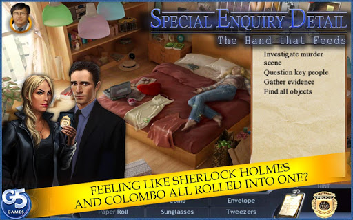Special Enquiry Detail®: The Hand that Feeds - screenshot