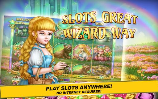 Slots Great Wizard Way PRO
