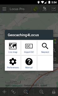 Geocaching4Locus - screenshot thumbnail