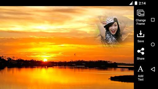 Sunset Photo Frame HD