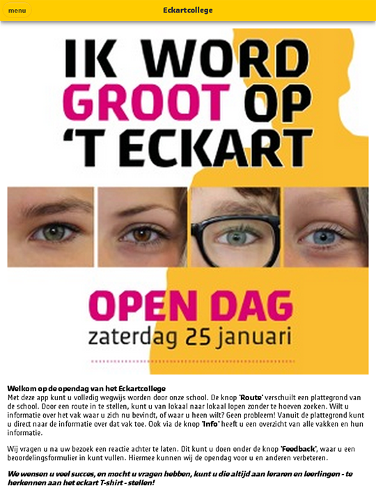 Eckart Open Dag- screenshot