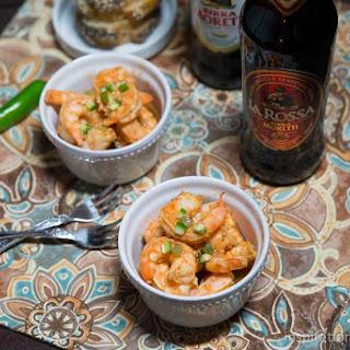 Spicy BBQ Beer Shrimp