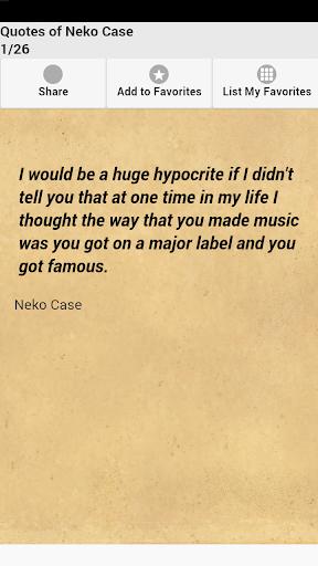 Quotes of Neko Case