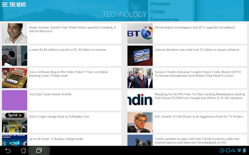 The News: Your News Reader App - screenshot thumbnail