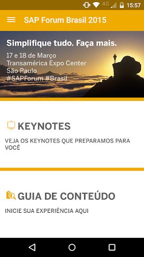 SAP Forum Brasil 2015