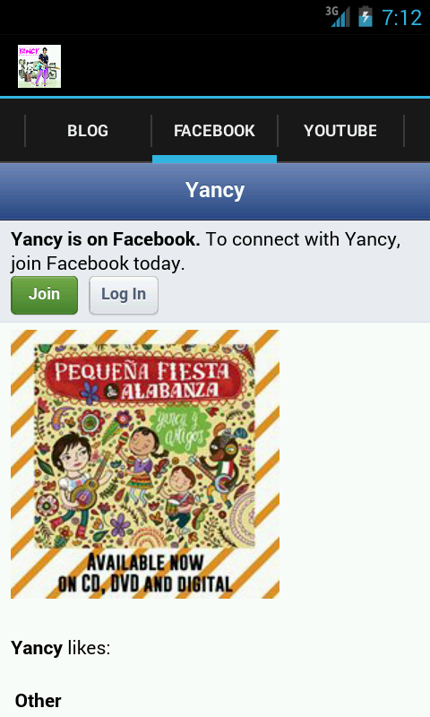Yancy App- screenshot