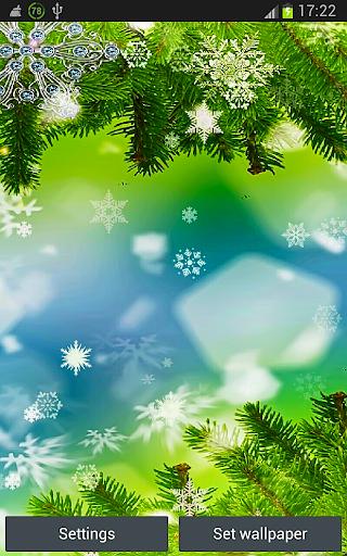Magic North Pole Xmas Trees HD