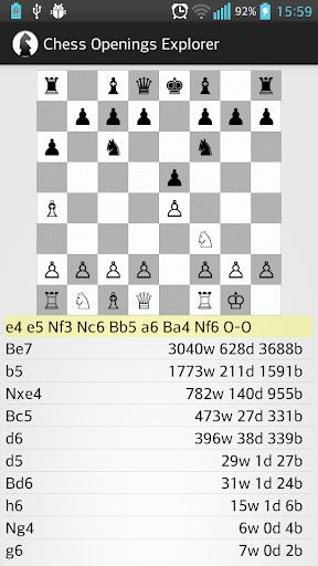 Chess Openings Explorer
