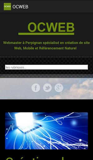 OCWEB Webmaster Perpignan