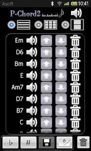 PChord2  (Piano Chord Finder)- screenshot thumbnail