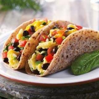 Blue Corn Breakfast Taco