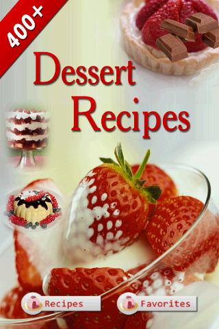 Dessert Recipes Cookbook - screenshot