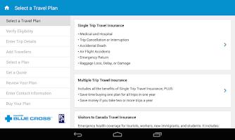Screenshot of Mobile Travel Kit