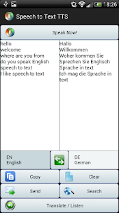 Speech to Text Translator TTS - screenshot thumbnail
