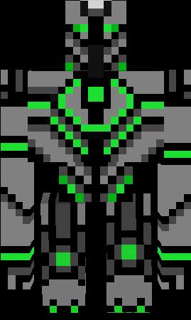 скины майнкрафта робот #2