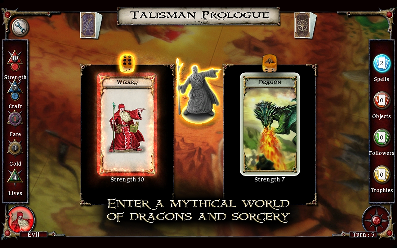 Talisman Prologue- screenshot