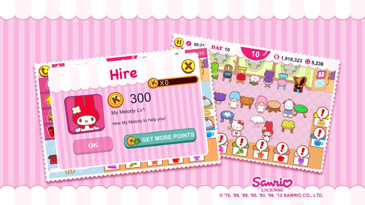 Hello Kitty Cafe Seasons Apl Android Di Google Play