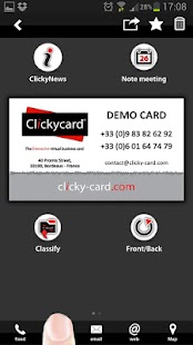ClickyCard - screenshot thumbnail