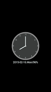 ClockView - Always On Clock - screenshot thumbnail