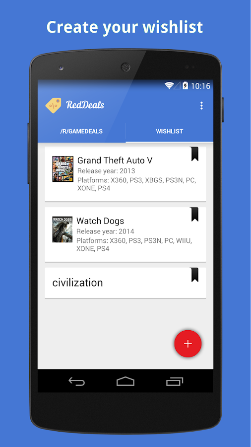 RedDeals- screenshot