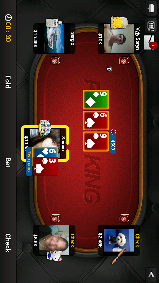 Texas Holdem Poker-Poker KinG- screenshot