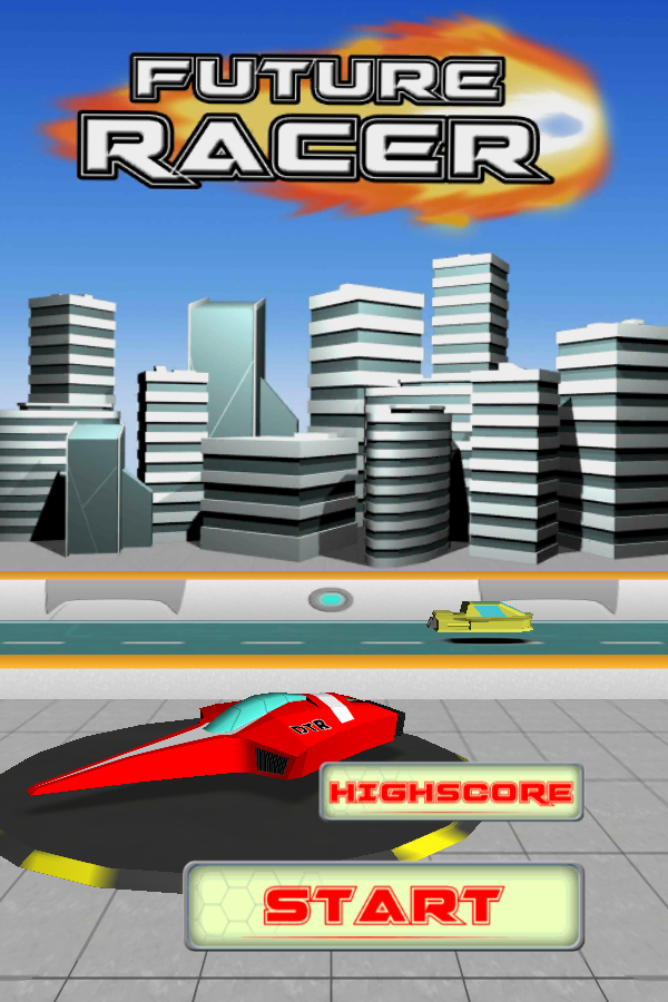 Future Racer 3D - screenshot