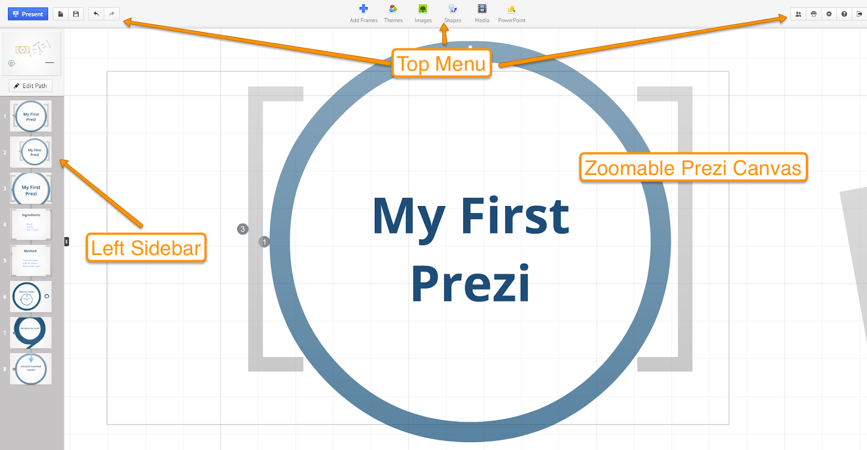 Prezi Tutorial Free Android Apps On Google Play