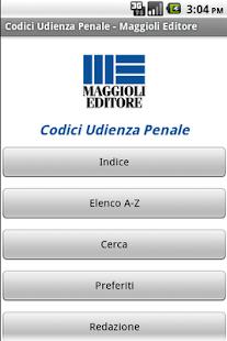 Codici Udienza Penale- screenshot thumbnail