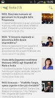 Screenshot of Regioni 5 Stelle