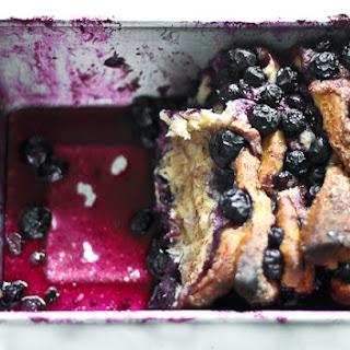 Blueberry Pull Apart Bread.