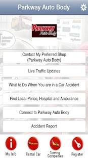 Parkway Auto Body App- screenshot thumbnail