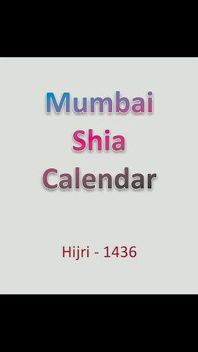 Mumbai Shia Calendar