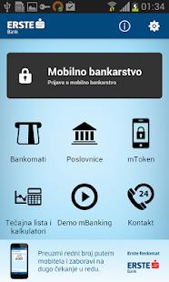 Erste mBanking - screenshot thumbnail