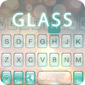 Glass Theme for Kika Keyboard