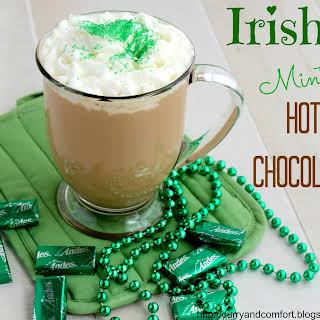 Irish Mint Hot Chocolate.