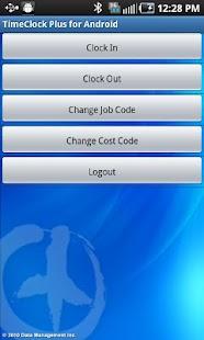 TimeClock Plus- screenshot thumbnail