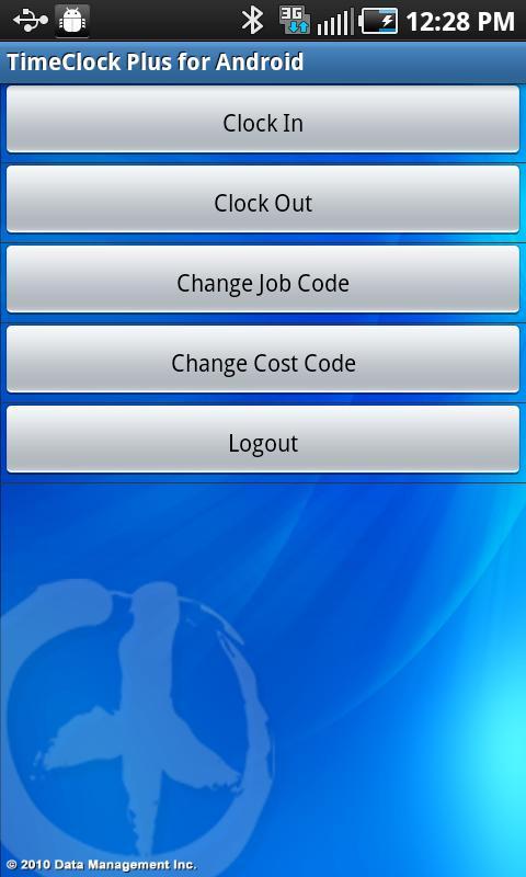 TimeClock Plus- screenshot
