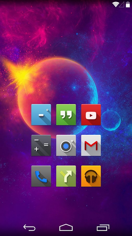 Nox - Icon Pack - screenshot
