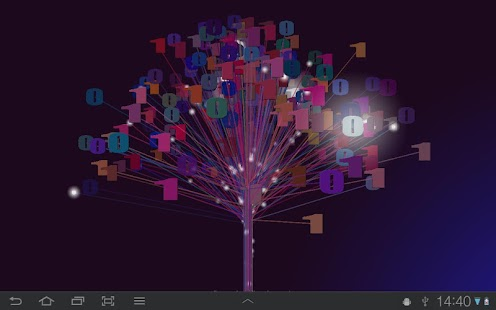 Binary Tree Live Wallpaper- screenshot thumbnail