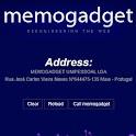 Memogadget Card company logo