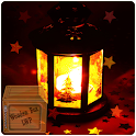 glowing red lantern LWP icon