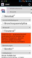 Screenshot of Notfallmedikamente-MedRett