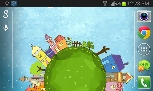 Cartoon City Live Wallpaper - screenshot thumbnail