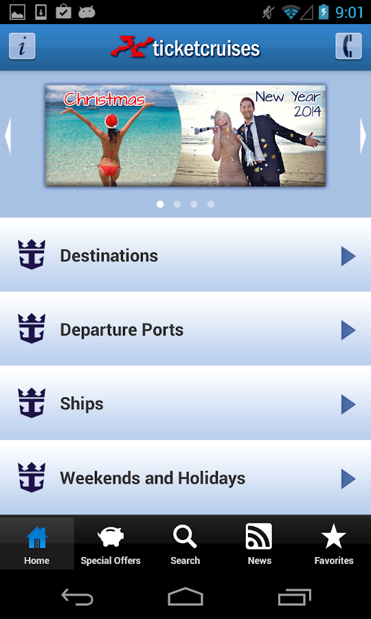 Ticketroyal - Cruises- screenshot