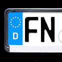 Auto-Kennzeichen icon