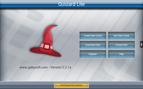 Quizard Flashcards Lite- screenshot thumbnail
