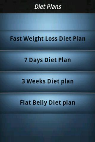 Diet Plan to Reduce Weight