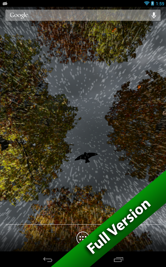 Falling Leaves Free Wallpaper- screenshot