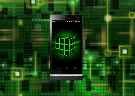 Neon Cube HD Live Wallpaper